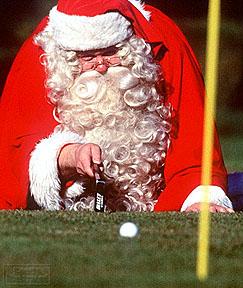 Santa Golf